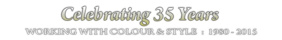celebrating 35 years working with colour and style : 1980 - 2015