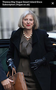 dress like a leader: how Theresa May should dress as the new Prime Minister