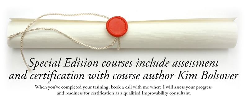 training course assessment and certification